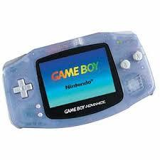 Gameboy Advance Handheld System: Glacier