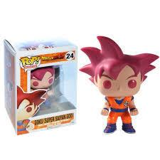 #24 Goku (Super Saiyan God)