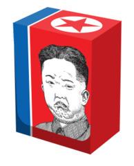 Grumpy Kim Deck Box (Legion)