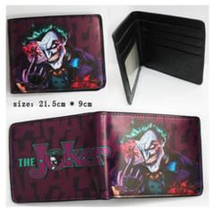Bioworld Joker w/Bloody Card Bifold Wallet