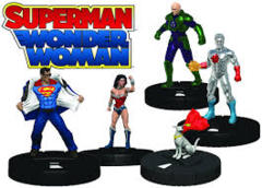 DC HeroClix: Superman and Wonder Woman Earth 2: Wonders of the World Fast Forces