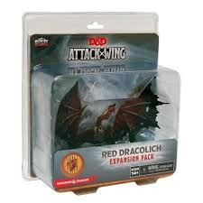 D & D Attack Wing: Red Dracolich