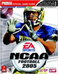 NCAA Football '05 Guide (GameCube Playstation Xbox)