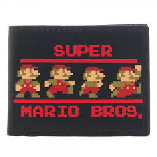 Super Mario Bros. Bi-Fold Wallet