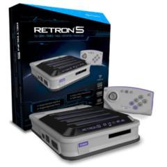 Retron 5 Gray  for GBA / SNES / NES / Genesis / Famicom