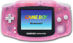 Gameboy Advance Handheld System: Fushia