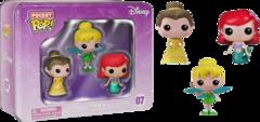#04 Ariel - Tinker Bell - Belle (Disney)
