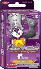 Killer Bunnies and the Ultimate Odyssey: Deadly Aliens Elementals Expansion Deck