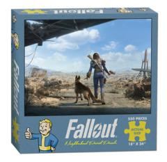 Fallout Neighborhood Patrol Puzzle - 550 Piece