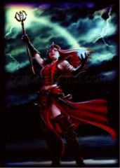 Mistress of the Elements - (Max Protection) Small Sleeves - 60ct
