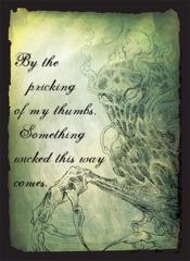 Something Wicked - (Legion) Standard Sleeves - 50ct