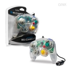 Cirka Clear Wii/Gamecube Controller - Wired