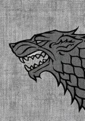 House Stark - A Game of Thrones Sleeves - (Fantasy Flight) - Standard