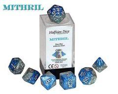 Mithril - Titan Blue & Morian Steel (Halfsies Dice) - 7
