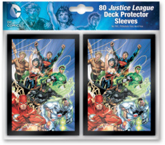 Justice League - (DC Comics) Standard Sleeves - 80ct