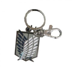 Attack On Titan Emblem Keychain
