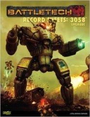 BattleTech Record Sheets: 3058