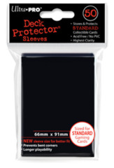 Black (Ultra Pro) - Standard Sleeves - 50ct