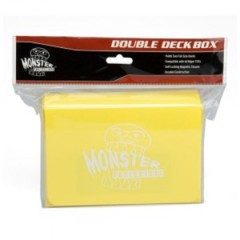 Monster Deck Box: Double Matte Yellow
