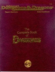 2nd Edition The Complete Book of Dwarves (Dungeon & Dragons)