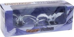 Pathfinder Battles White Dragon Evolution Boxed Set