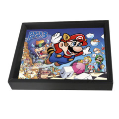 Super Mario Bros 3 Framed 3D Graphic Art