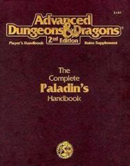 2nd Edition The Complete Paladin's Handbook (Dungeon & Dragons)