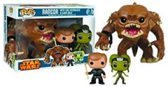 Rancor with Luke & Slave Oola Vinyl Figure 3-Pack