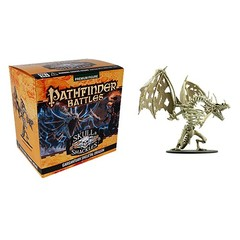 Pathfinder Battles Skull & Shackles Gargantuan Skeletal Dragon