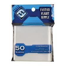 Board Game Sleeves Clear (Fantasy Flight) - 70 x 70 mm