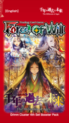 Force of Will: The Millennia of Ages Booster Pack