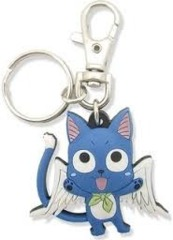 Happy PVC Keychain (Fairy Tail)
