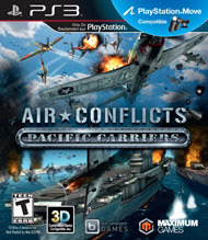 Air Conflicts Pacific Carriers (Playstation 3)