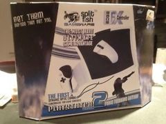 Split Fish Gameware Playstation 2 Ps2 Edge Fx Mouse Controller