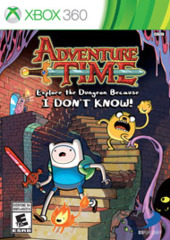 Adventure Time - Explore the Dungeon Because I DON'T KNOW (Xbox 360)