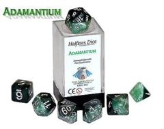 Admantium - Strong & Humble Ferrous Greens (Halfsies Dice) - 7