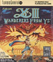 Ys III: Wanderers From Ys (Super CD)