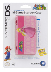 6 Game Storage Case - Peach