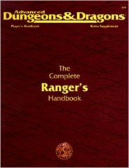 2nd Edition The Complete Ranger's Handbook (Dungeon & Dragons)