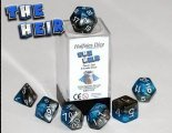 The Heir - Power Teal & Castle Stone (Halfsies Dice) - 7