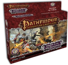 Pathfinder Adventure Card Game - Wrath Of The Righteous Sword of Valor