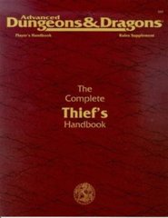 2nd Edition The Complete Thief's Handbook (Dungeon & Dragons)
