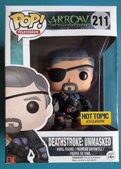 #211 Deathstroke: Unmasked (Arrow) - HTE