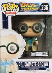 #236 Dr. Emmett Brown LootCrate Exclusive