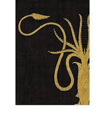 House Greyjoy - A Game of Thrones Sleeves - (Fantasy Flight) - Standard