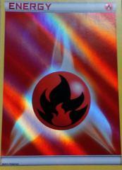 Fire Energy - Holo Energy - Battle Arena Deck: Keldeo EX vs Rayquaza EX