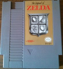 Legend of Zelda  (Grey Cart)