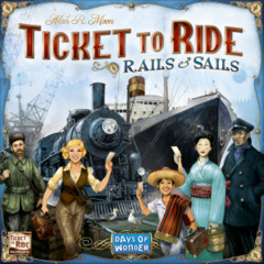 Ticket to Ride - Rails & Sails - In Store Sales Only