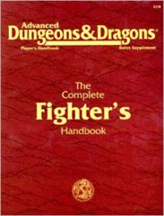 2nd Edition The Complete Fighter's Handbook (Dungeon & Dragons)
