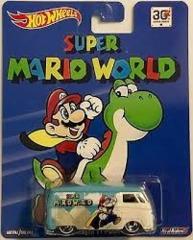 Super Mario World - Vokswagen T1 Panel Bus (Hot Wheels) - 30th Anniversary